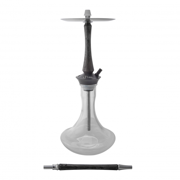 Купить Union Hookah Sleek Black Silver